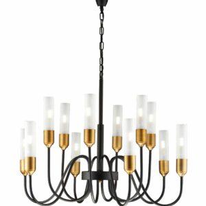 lampara vintage 12 luces