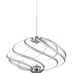 Lámpara LED cromada