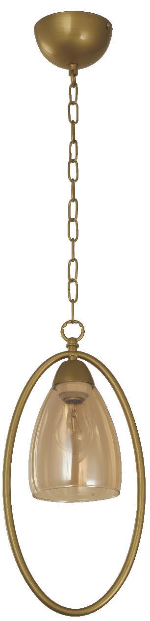 Lámpara para barra tonalidad dorada