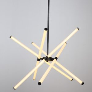 Lampara LED tubos escualizables