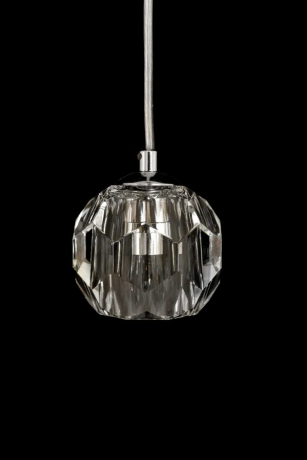 lampara cristal macizo